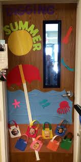 Backyards Door Decoration Ideas Classroom Decorations Summer Summer ...