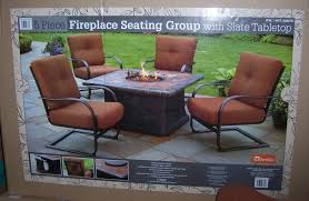 fire pit table set costco design and
