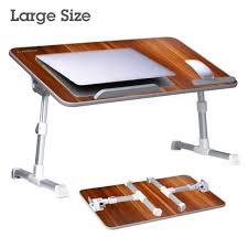 avantree large size adjule laptop bed table portable standing desk