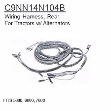 ford tractor wiring harness ford image wiring diagram c9nn14n104b ford tractor wiring harness rear 5600 6600 7600 uk on ford tractor wiring harness
