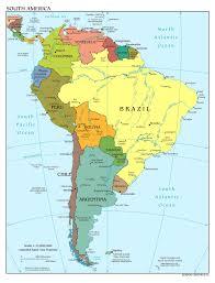 Interactive map latin america