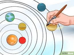 How To Make A Poster Of The Solar System 13 Steps With