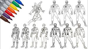 Collection of ultimate spiderman coloring pages (28). Ultimate Spider Man And Spiderman Homecoming Drawing And Coloring Pages Youtube