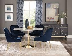blue and gold interior design ideas