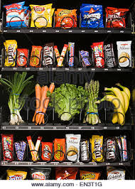 Fruit Vending Machine Gorgeous Fruit And Vegetables In A Vending Machine Stock Photo 48 Alamy