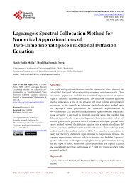 a second order accurate numerical method for the two dimensial fractional diffusion equation request pdf