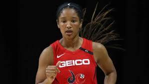 Stella Johnson hits 6 3s, sets rookie record in Washington Mystics win -  TSN.ca