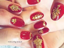 指先に赤を秋にぴったりな女心をくすぐるレディライクな赤ネイル特集