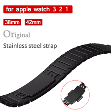 crested original genuine strap for apple watch 4 band 44mm 40mm iwatch series 3 2 1 42mm 38mm stainless steel link bracelet belt