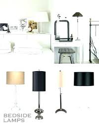 how tall should a bedside table lamp be tall bedroom lamps bedroom nightstand lamps and tall