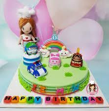 Jelly Birthday Cake Design Robocar Poli Agar Agar Jelly Cake Jelly Cake Cake Agar