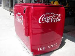 Original Coke Vending Machine Magnificent CocaCola Soda Machine Westinghouse 48 Case Master Soda