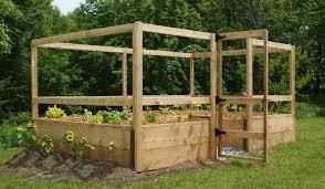 deer proof vegetable garden kit by