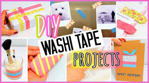 Washi Tape 7 Diy Washi Tape Projects You Need To Try Easy Youtube