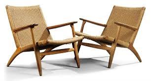 lounge chairs hans wegner. A PAIR OF HANS WEGNER OAK AND Lounge Chairs Hans Wegner L