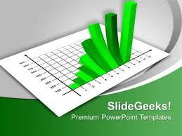 Finance Business Growth Chart Ppt Template Powerpoint Template