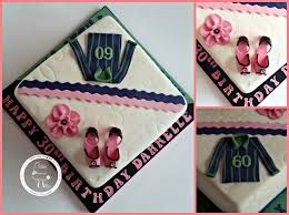 Joint 60th 30th Father Daughter Birthday Cake By Cáca Willis