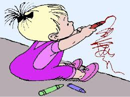 Image result for cartoon of writer scribbling