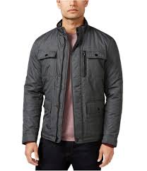 alfani mens full zip puffer jacket 0