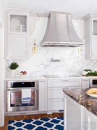 Marble slab backsplash Kitchen Backsplash Must See Marble Backsplash In The Hands Of Skilled Stone Workers Marble Can Take On Many Forms In This Kitchen The Marble Slab Backsplash Between The Pinterest Marble Backsplashes House Kitchen Backsplashtile Options