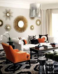image of modern round mirror wall decor