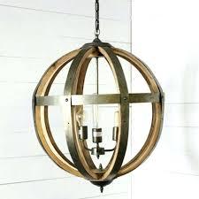 wood and metal orb chandelier metal and wood 3 light orb chandelier wood metal orb chandelier wood and metal orb chandelier