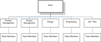Agile Project Organization Chart Using A Product Led Matrix In Lean Agile Its A Delivery Thing