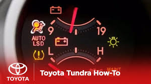 2007 Tundra Airbag Light On 2007 2009 Tundra How To Airbag Srs Warning Light Toyota