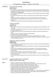 Sample Sports Resume Sample Athletic Resumes Magdalene Project Org