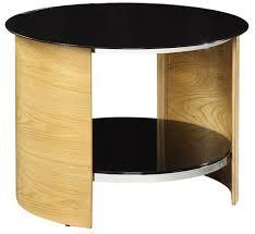 san marino oak round lamp table main image