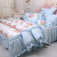 girls bed skirt. Beautiful Girls Princess Blue Yellow Flower Bedding Sets Girlsfull Queen Cotton Double  Ruffles Home Textile Bed And Girls Bed Skirt Y