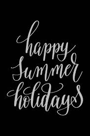 Posters Happy Summer Holidays Quote Printed Poster Funny Poster