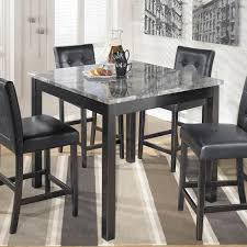 maysville square counter height dining table and stools set rh rrfurniture com countertop dining room table sets marble top dining room table and chairs