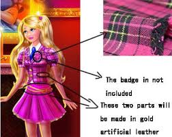 custom blair willows cosplay costume from barbie princess charm cosplayfu