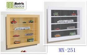 glass door home wall mounted display