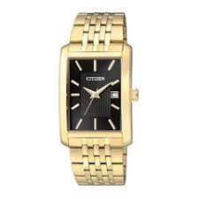citizen quartz men s watches for jewelry watches jcpenney citizen® everyday mens rectangular gold tone stainless steel watch bh1673 50e 56