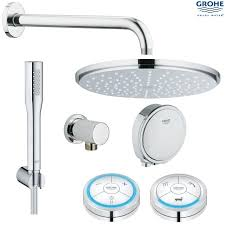 grohe veris f digital rainshower digital bathshower grohe shower accessories uk