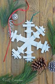 tutorial to make a diy wooden snowflake easy to make large or small wood snowflake