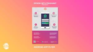 Design Flyer App Android App Flyer Design With Prashant Design With Prashant