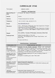 Free Download 50 Curriculum Vitae Template Word Download