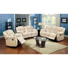 Furniture of America Barbz 3 Piece Bonded Leather Recliner Sofa Set Ivory P imwidth=320&impolicy=medium