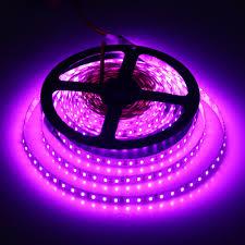 Tanbaby <b>Led</b> Strip Pinkish Purple Light <b>DC12V 5M 600 Led</b> SMD ...