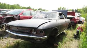 1966 Chevrolet Corvair Reaches the End of the Road