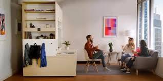 Ori furniture system uses robotics to transform studio apartments