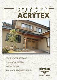 Boysen Virtuoso Color Chart Pacific Paint Boysen Philippines Inc Acrytex Boysen