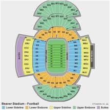 Penn State Stadium Seating Chart Rows Bedowntowndaytona Com