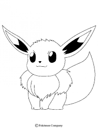 Small Picture Eevee coloring pages Hellokidscom