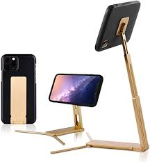 2020 popular 1 trends in cellphones & telecommunications, computer & office, home & garden, automobiles & motorcycles with bed holder for iphone and 1. Amazon Com Lookstand Gold Adjustable Cell Phone Stand Compatible With Iphone Android Cell Phone Holder For Bed Iphone Holder For Desk Iphone Stand For Video Desk Phone Stand