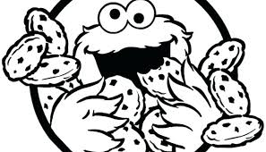 Cookie Monster Coloring Baby Cookie Monster Coloring Pages Cookie