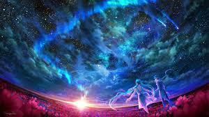 2845 views   3872 downloads. Pin By Liudmyla Grishchenko On X Sky Art Blue Anime Anime Galaxy